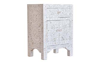 MOP Bedside Table